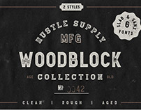 The Woodblock Collection - Sans & Slab