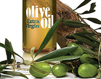 "TM ""Gusto Bravo""  olive oil package design"
