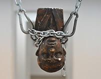 """REAR (for """"Ukrainian Dark Folk"""" exhibition)"""