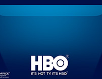 HBO Magazine ads