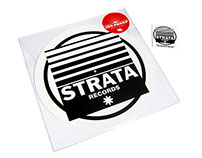 180 Proof logo design & Strata Records Merchandise