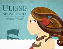 Ulisse Odiava Le Mele | Poster Illustration