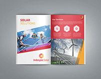 Indonesia Solar Energy Company Branding