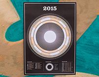 Infographic Calendar 2015