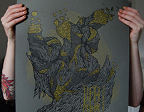 Ufomammut gig poster