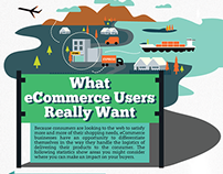 What Ecommerce Users Really Want Infographics