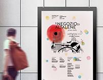 """""""Il Negozio di Altalene"""" poster and brochure"""