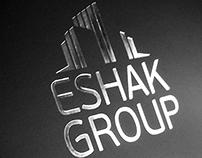 Eshak Group Logo Identity