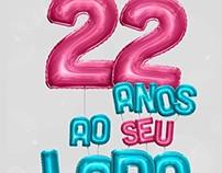 Campanha de Aniversário - 22 anos BGO Têxtil