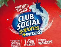 Ação Promocional - Club Social