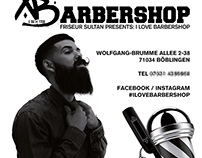 Barber Flyer Design