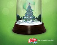 Maestro Limpio, el aroma de la navidad.