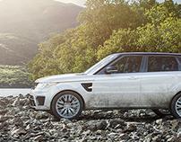 VRED, Range Rover SVR | CGI, Photography & Retouching
