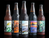 Wolf Brewery packaging