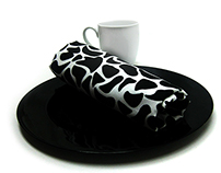 Black and White Fabric / Product Photography