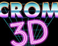CROM 3D Logo