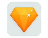 Diamond app icon tutorial