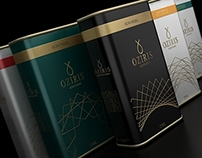 Oziris - Olive Oil - Branding & Package