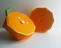 Naranja geométrica