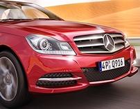 CGI Mercedes-Benz ! ( Motion Blur version )
