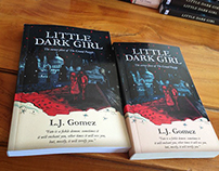 "Editorial Design: Cover book ""Little Dark Girl"""