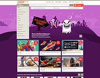 Halloween event - Tesco direct