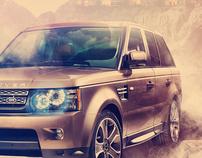 Land Rover Ad Concept