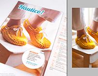 "Editorial Photography: Magazine ""Tejemos Crochet"""