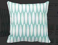 Feather Sketch pattern design