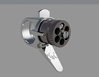 3D Printed Steampunk Gun Ring - Under Development
