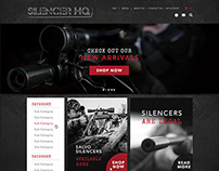 Website Design for SilencerHQ