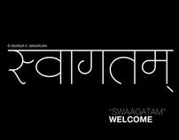 "Light Devanagari Nepali ""Ananda Ashlesha"""