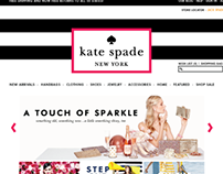 Kate Spade Website Redesign