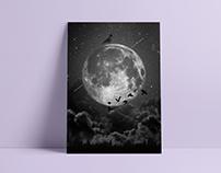 """""""La Luna"""" - Ilustración"""