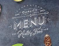 Menu - Book Gastronomy