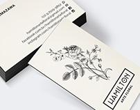 Hamilton Arte Floral • Branding