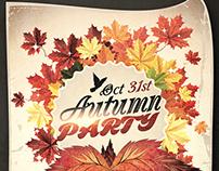 Autumn Party - Flyer