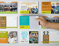 Real Estate Finance Company Post Card Design