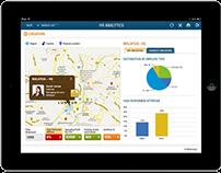 HRM iPad UI/UX Design