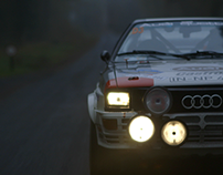 Audi - Quattro Stories 'Prepare for Thunder'