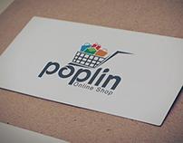 poplin logo