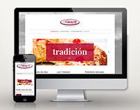 Web: Pastelería Tradición 1892