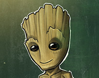 WEEKLY SKETCHBOOK - Drawing Groot