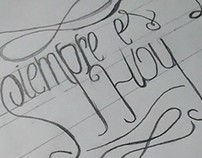 Lettering TYPE 2