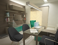 Interiores - escritório de nutrição