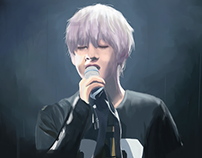 Kim Taehyung TRB Fan Art