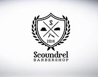 Scoundrel Barbershop Branding