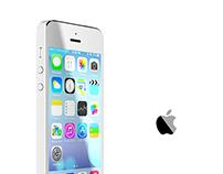 Iphone 5S rendered in Corona