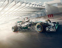 Mercedes Benz Formula One