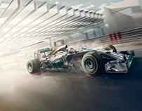 Mercedes Benz Formula One